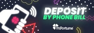 deposit by phone bill promo