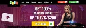 Slot Pages Online Casino Screenshot Of Bonus | sllots.co.uk