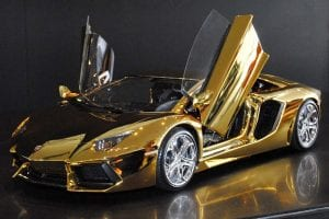 gold aventador | online casinno uk goldman | lambo doors open