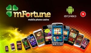 mFortune no deposit bonus play on android