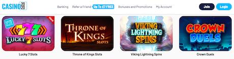 top online casino bonus terms